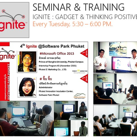 Seminar & Training, Ignite