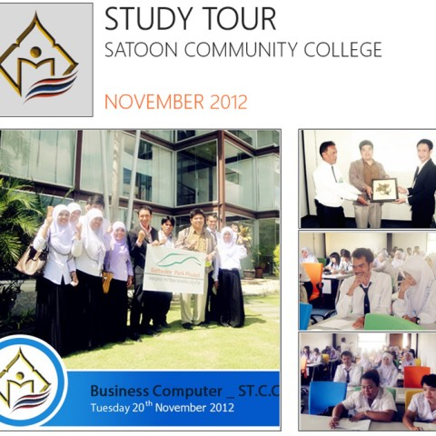 Study Tour, Satoon Community College