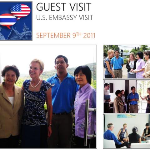 Guest Visit, U.S. Embassy Visit, 2011